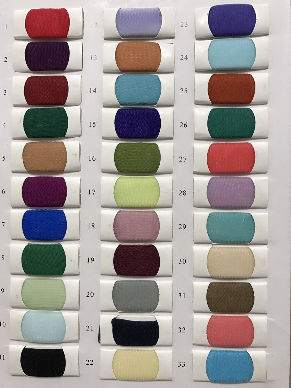 Color chart color template tulle colour chart for wedding dresses color chart color template tulle colour chart for wedding dresses and evening dresses nvjuhfo Image collections