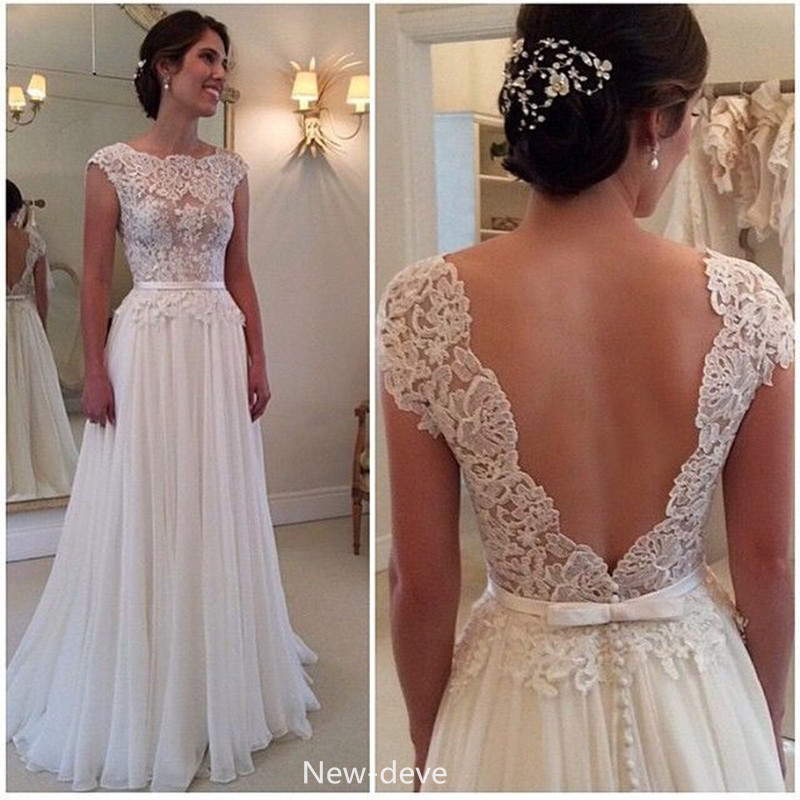 Lace wedding dress wedding gown bridal gown a line wedding dress lace wedding dress wedding gown bridal gown a line wedding dress chiffon wedding dress low back wedding dress sexy wedding dresses junglespirit Image collections